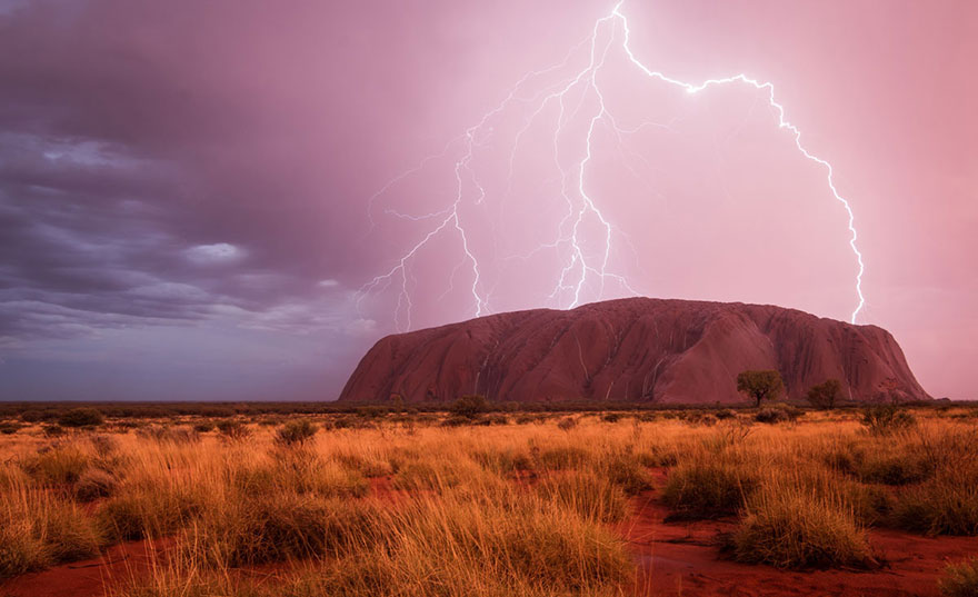 These Are The 35 Best Pictures Of 2016 National Geographic Traveler Photo Contest - Powered Sight, Uluru, Australia