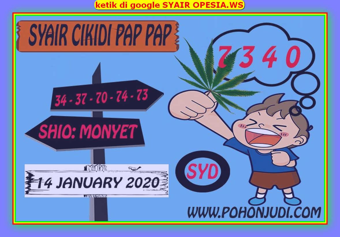 Kode syair Sydney Selasa 14 Januari 2020 95