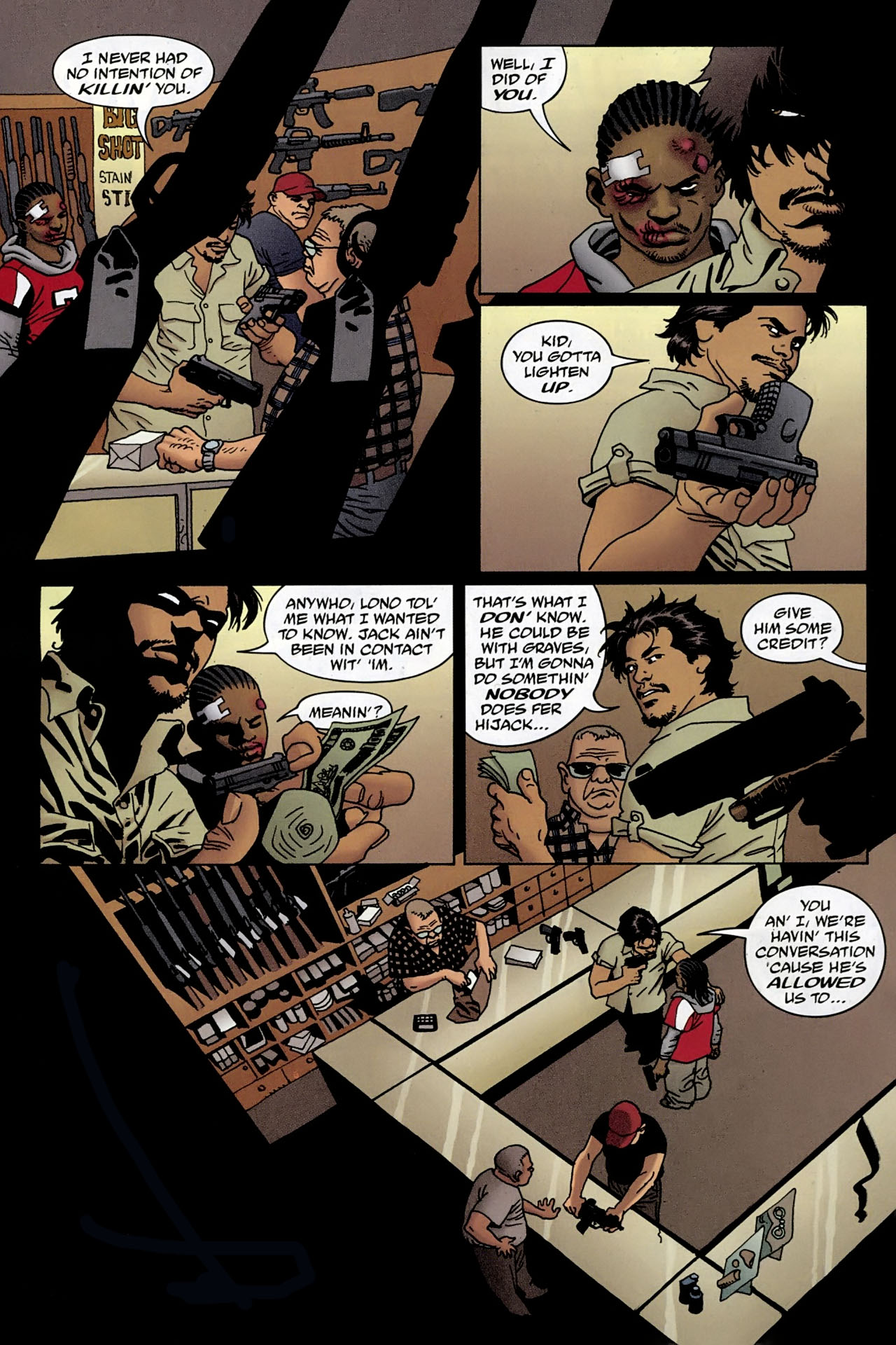 Read online 100 Bullets comic -  Issue #96 - 11