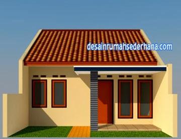 Desain Rumah Sederhana Minimalis Type 45/72 2 Kamar Tidur