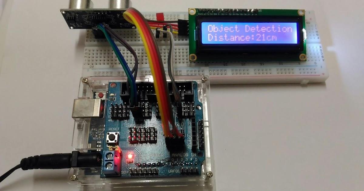小誌嗑咖啡: Arduino:超音波量測與LCD距離顯示