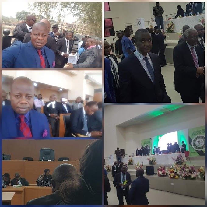 Justice Danladi absconds from court as Cross River state DG Due process leads protesters to CCT hearing