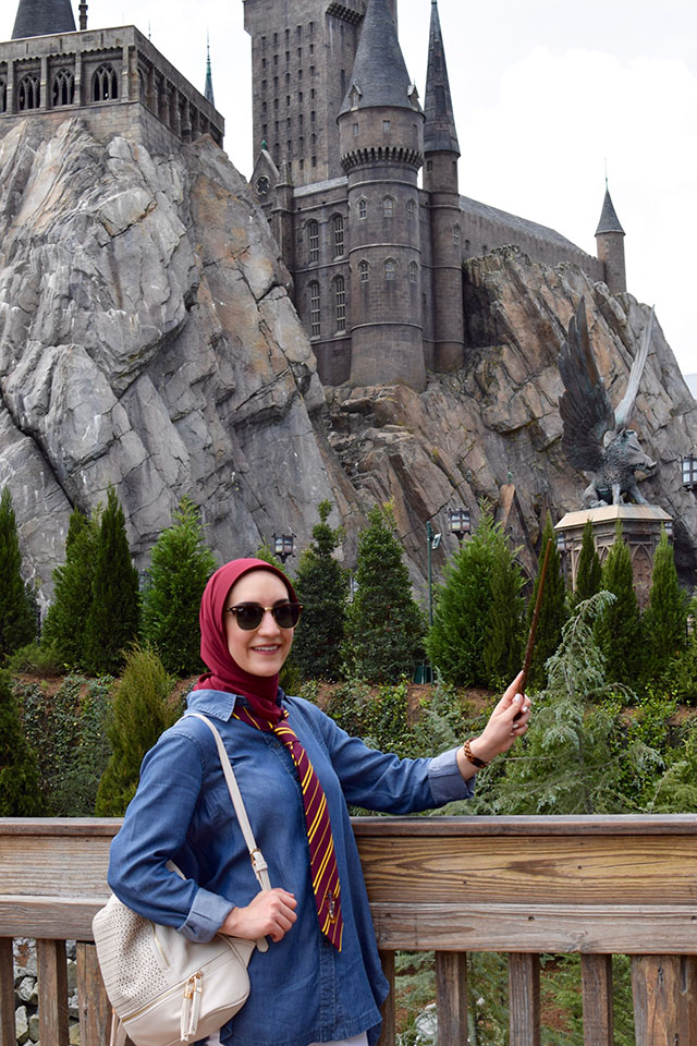 Harry Potter Outfit-Orlando-Wizarding World of Harry Potter-Travel Blog