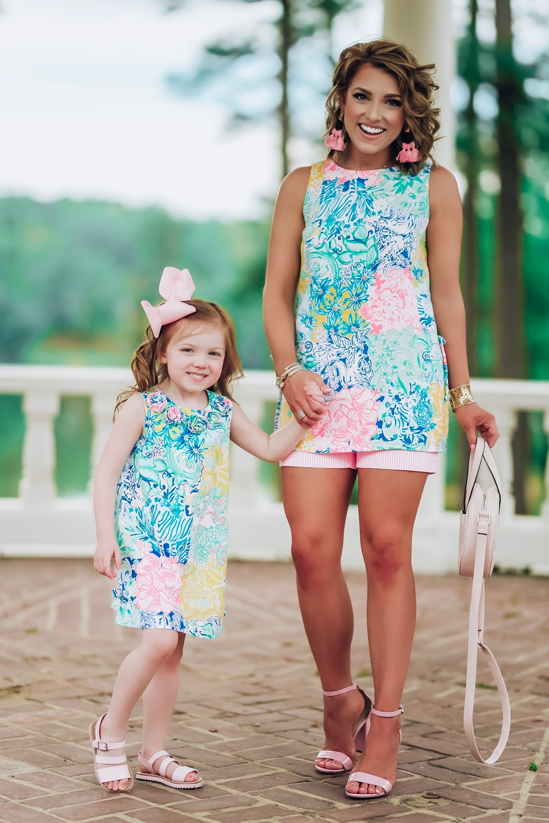 Mommy & Me Lilly Pulitzer With Palm Village Augusta + Giveaway!! - Something Delightful Blog #lillypulitzer #springstyle