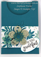 Stampin Up, #thecraftythinker, Botanical Builder, Blooms & Wishes, Stampin Up Australia Demonstrator Stephanie Fischer, NSW