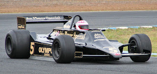 The Lotus 79 car in which Andretti won the 1978 title