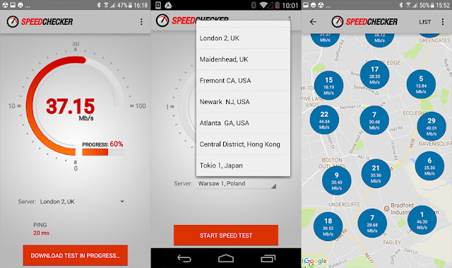 تطبيق speed checker apk