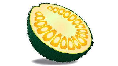 gambar clipart buah nangka