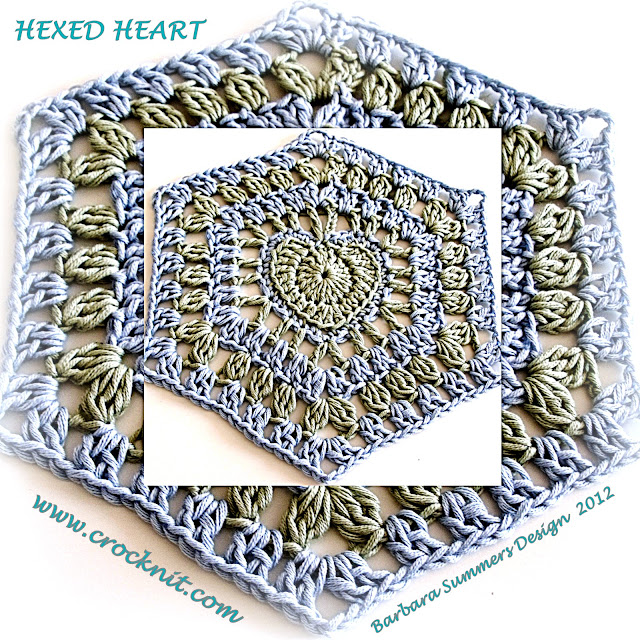 crochet patterns, how to crochet, hearts, hexagon hearts, hearts afghans, granny square hearts,