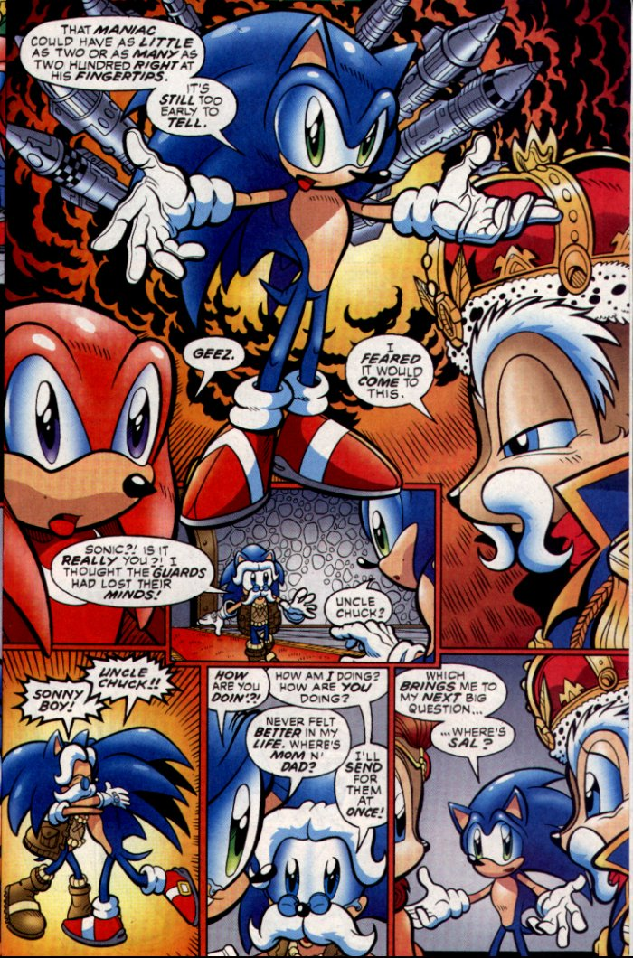 Read online Sonic The Hedgehog comic -  Issue #130 - 17