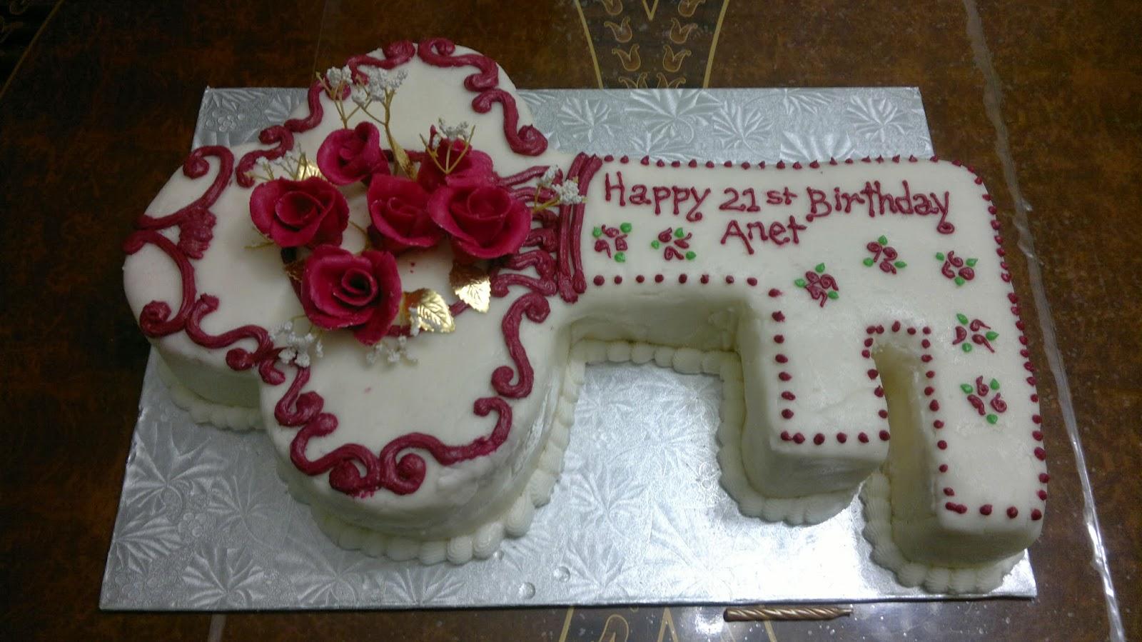 Ajantha Cakes/21st Birthday Cake/Key Cake