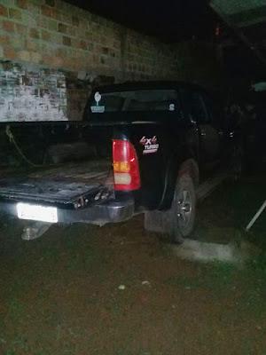 Guajará-Mirim: Denúncia leva 6º BPM a recuperar caminhonete roubada no município de Alto Paraíso