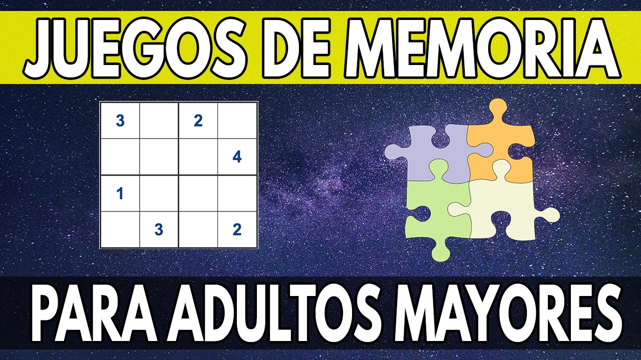 3 Juegos De Memoria Y Atencion Perfectos Para Adultos Mayores