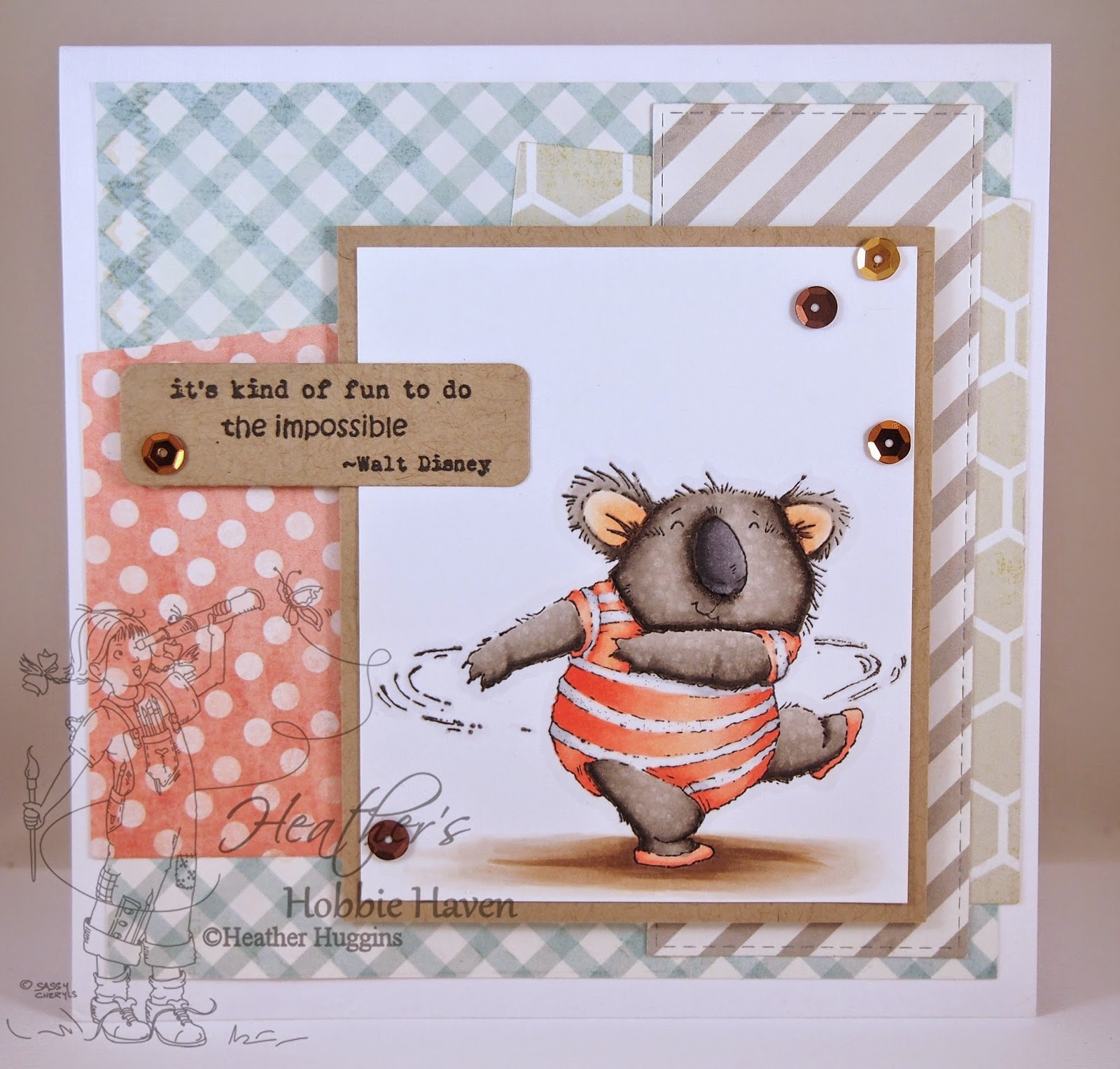 Heather's Hobbie Haven - Twirl Card Kit