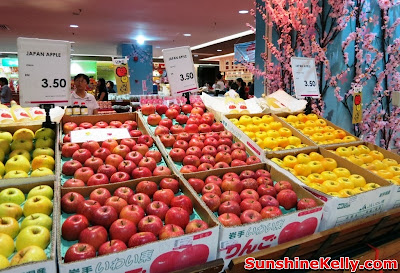 Welcome to Japan Fair, Iwate Food Fair, AEON Bandar Utama, bandar utama, shopping mall, japan food fair,  mochi, kids bento, osechi, origami workshop, japan apple