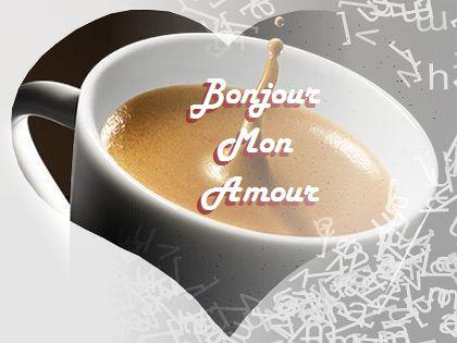 Image d 39 amour bonjour caf amour - Image d amour gratuite ...