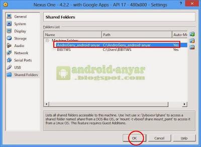 Cara masukan File / Foto ke Genymotion