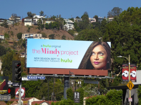 The Mindy Project season 4 billboard