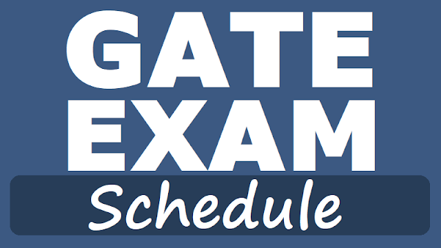 GATE 2018 Schedule, GATE 2018 Exam Date, GATE 2018, GATE Dates, GATE Time Table,Graduate Aptitude Test in Engineering (GATE) 2018 exams