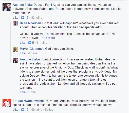 donald comments made chatroom trump fans supporters
