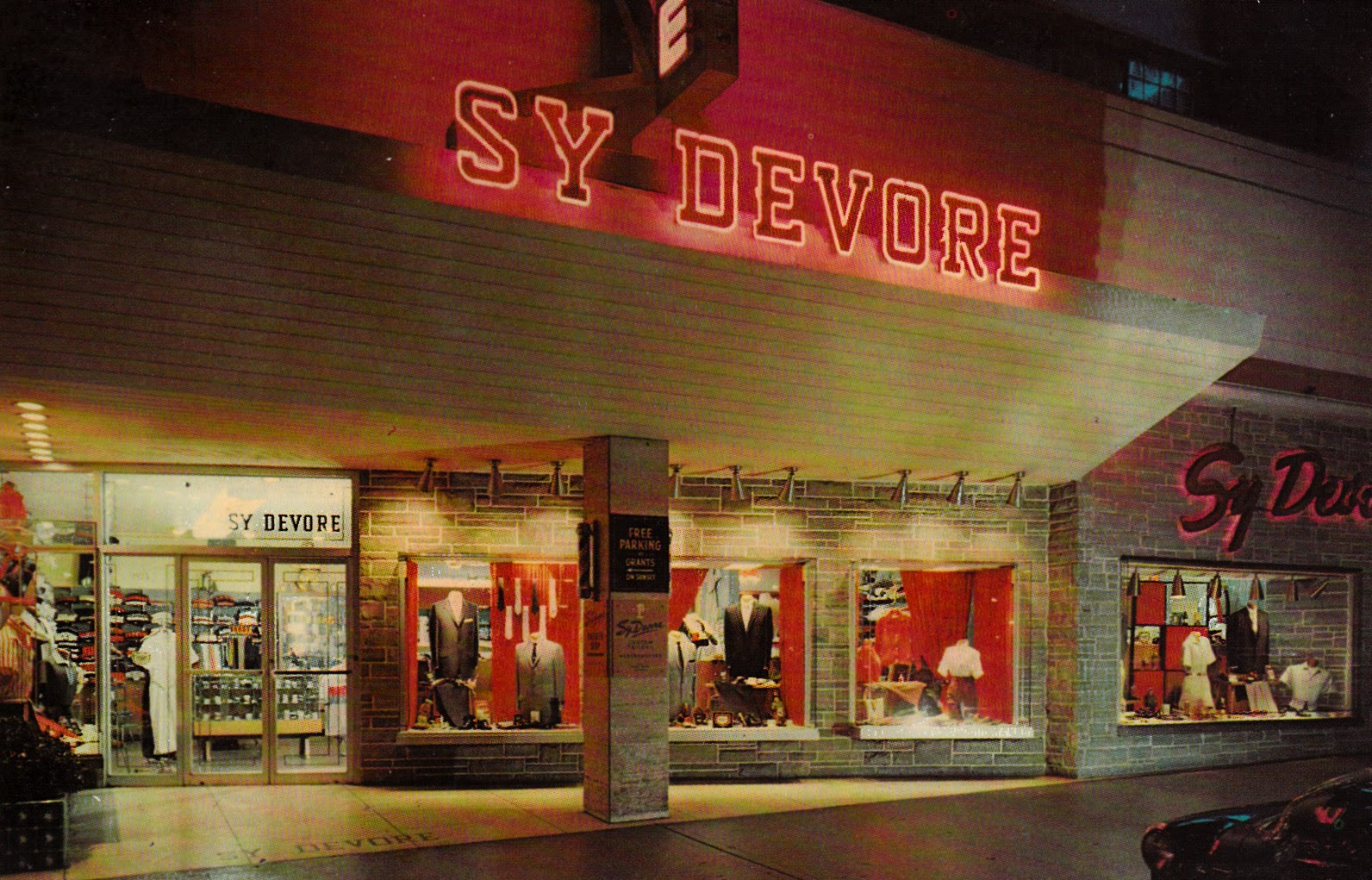89875cd9 In 1944, a tailor named Sy Devore moved to Los Angeles from New York to  open a 900-square-foot shop at the glamorous intersection of Sunset  Boulevard and ...
