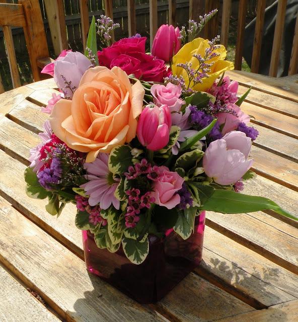 flores de aniversário
