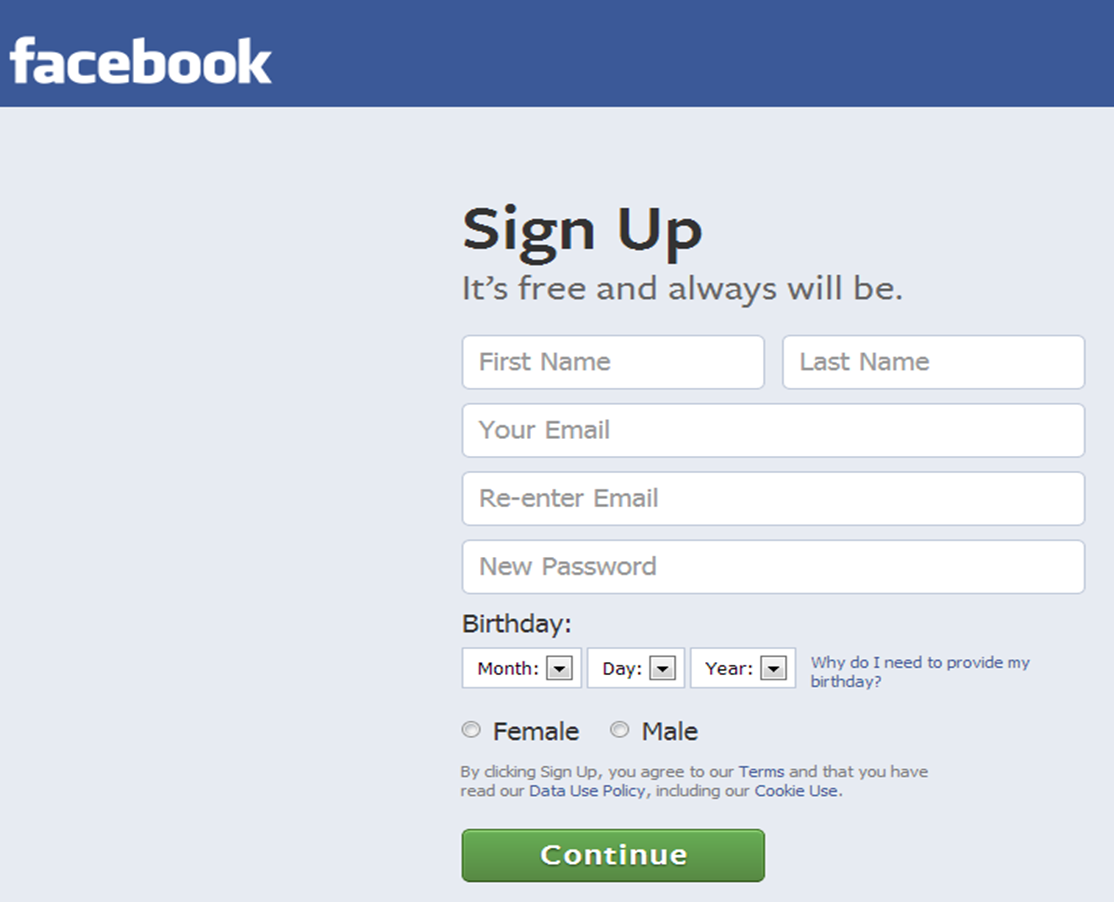 flirting signs on facebook account login free email