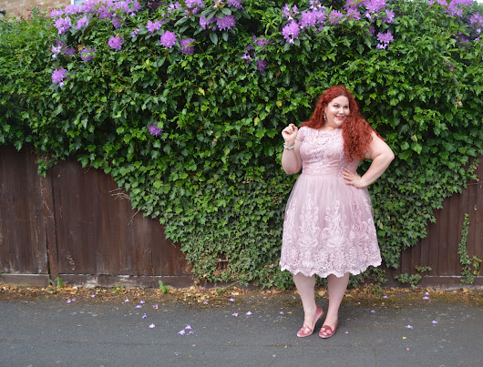 Lady in Lace: Featuring the Chi Chi London Liviah Dress from Simply Be