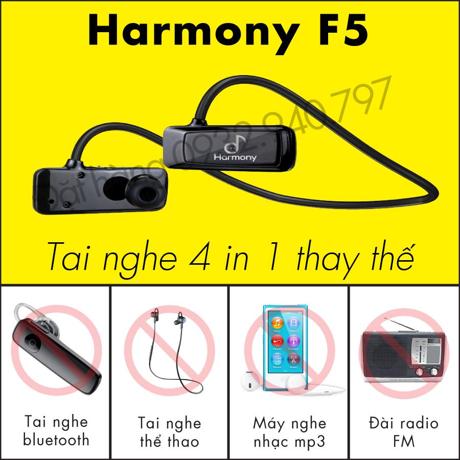 Tai nghe Harmony F5 - tai nghe bluetooth có thẻ nhớ thể thao
