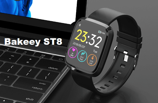 Bakeey ST8 New SmartWatch Specs Features and Price