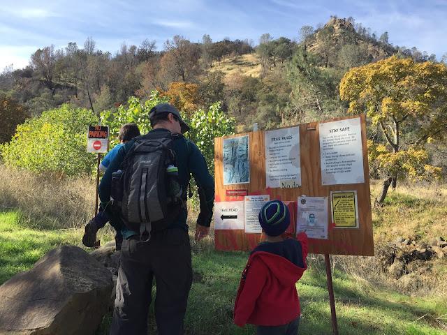 Stebbins Cold Canyon trailhead