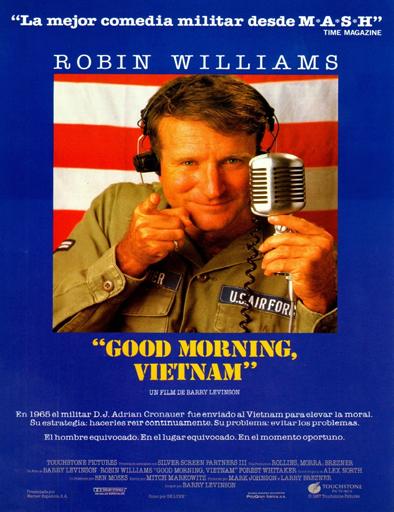 ver Buenos días, Vietnam (Good morning, Vietnam) (1987) Online