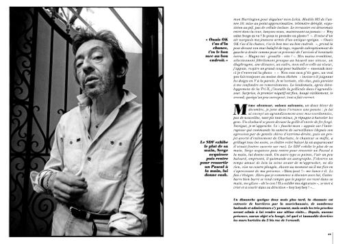 Franck Chevalier Serge Gainsbourg Gainsbarre rue de verneuil maison domicile musee paris mur graffiti charlotte
