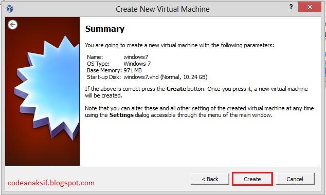 cara konfigurasi virtual box