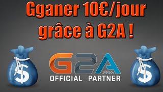 Gagner plus de 300€ par mois grâce à G2A