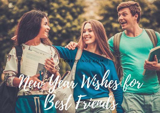 Happy New Year Message For Best Friend 2019