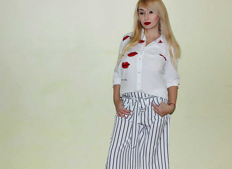 Shopping in Zaful: Полоска и Lips print / обзор, отзывы