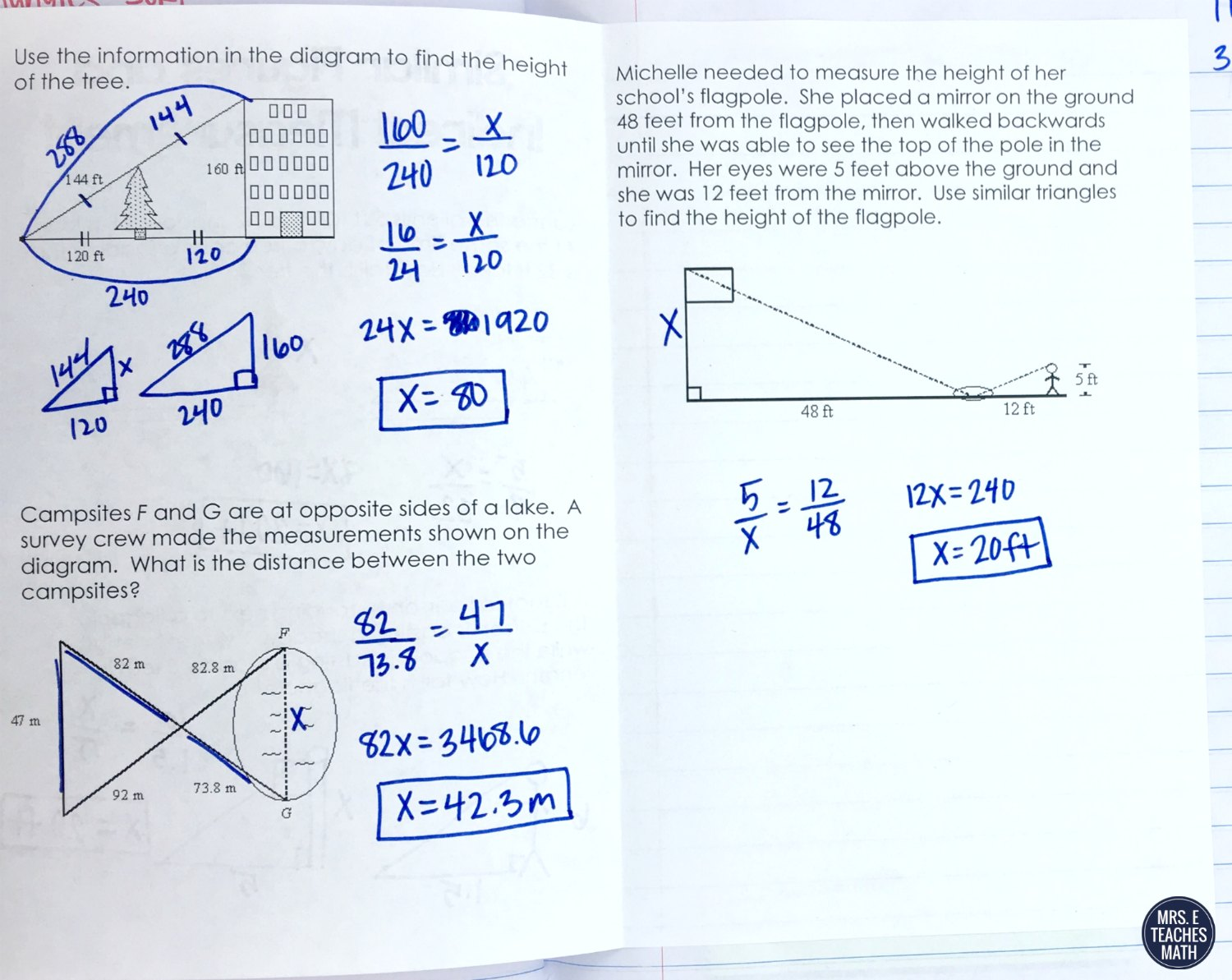 Similar Polygons Inb Pages