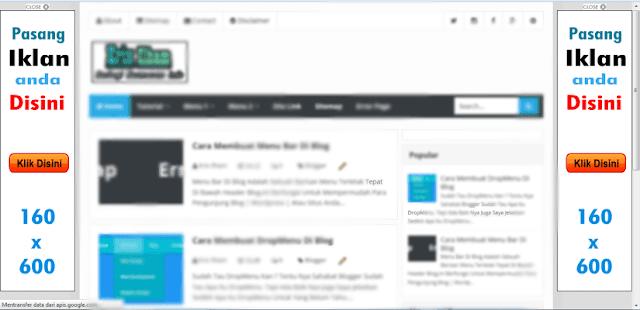 Cara Membuat Widget Banner Blog