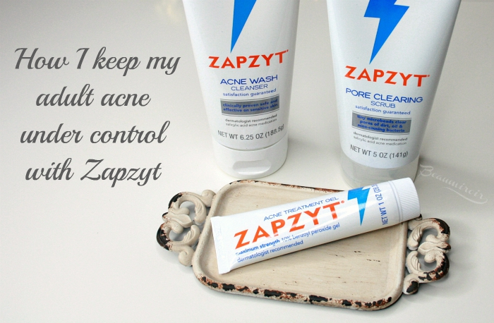 How I Keep My Adult Acne Under Control With Zapzyt Beaumiroir
