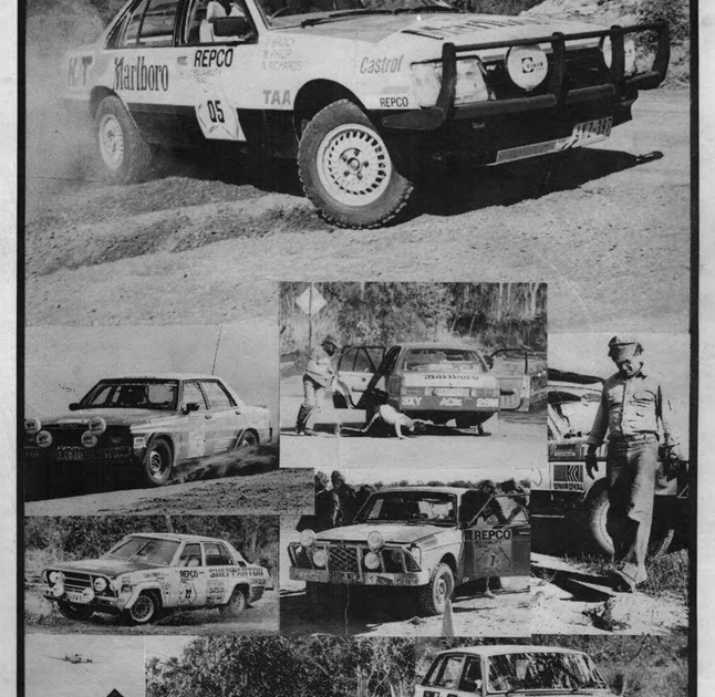 Bob Richards Toyota >> REPCO RELIABILITY TRAIL 1979: Results