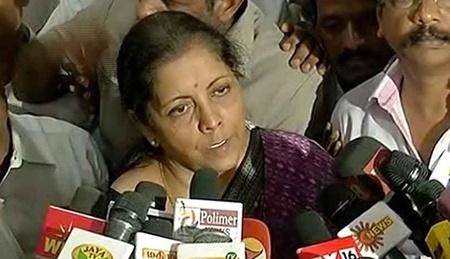 Nirmala Seetharaman Press meet regarding GST