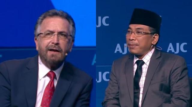 Tuai Kontroversi, Yahya Cholil Staquf Hanya Bahas Islam dan Yahudi di Israel, Tonton Videonya!