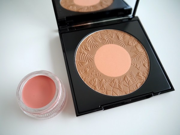 Lise Watier Eden Tropical Summer 2014 Collection bronzer duo and cream blush