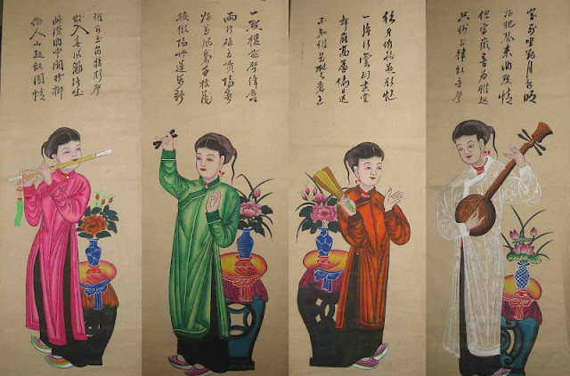 Hang Trong folk paintings 2