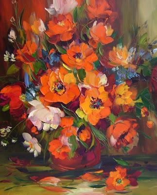 cuadros-oleo-flores