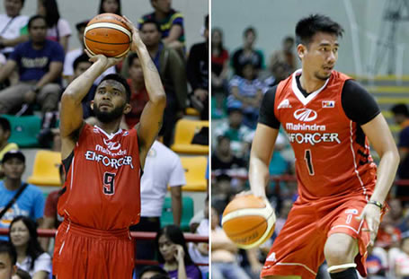 List of Leading Scorers: Mahindra Enforcers 2016 PBA Governors' Cup