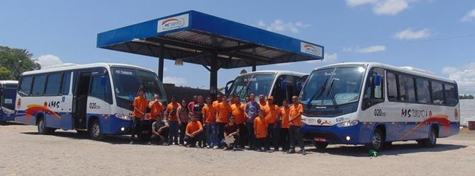 MS Turismo realiza visita e passeio com o MOB Ceará