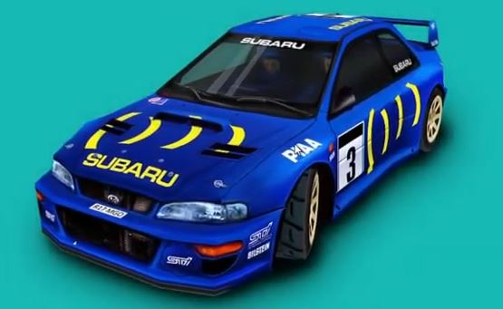 Subaru Impreza Colin McRae Rally
