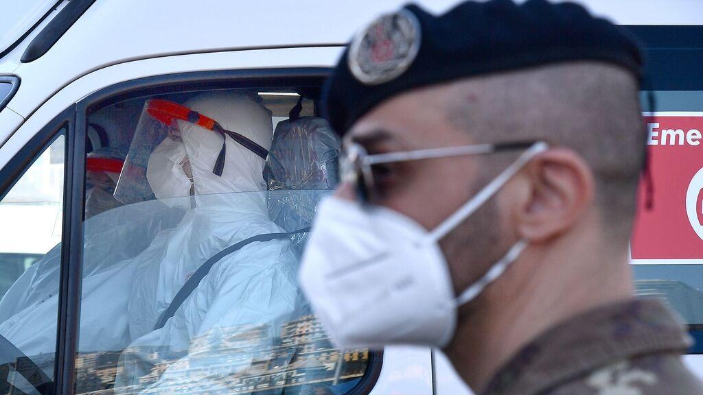 Coronavirus en Italia: Leve suba de las víctimas en el inicio de la nueva cuarentena